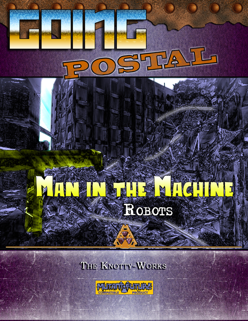 Going Postal - Man in the Machine (Robots)